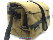 Canvas DSLR Camera Messenger Shoulder Case Bag For Nikon Sony Canon Pentax fuji
