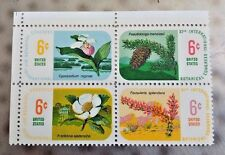 1969 US, 11th. Inter. Botanical Congress, Scott # 1376, FDC, + Block of 4