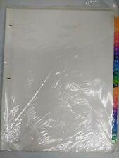 Avery Ready Full Page Index Multicolored Tab Dividers 1 31