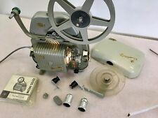8mm Filmprojektor Zeiss/Ikon  Movilux R mit Tonadapter  Schönes  Stück  selten