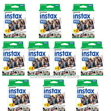 200 Prints Fuji Instant Wide Color Film for Fujifilm Instax 200, 210,300 Camera