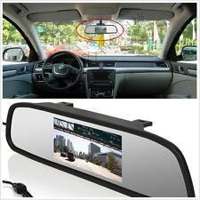"""4.3"""" TFT LCD Rear View Mirror Display Monitor for Car SUV Backup Reverse Camera"""