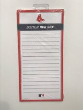 "Boston RedSox MLB Frig Memo Notepad 4.5"" x 9"" 75 Sheets NEW"