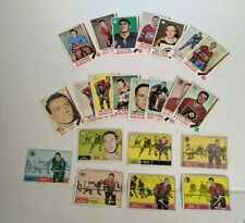 1968 &1969 Topps Hockey Cards You U Pick to Complete Set Good to Near Mint