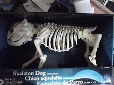 Skeleton dog bones Halloween decoration prop