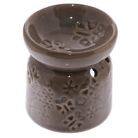 Small Brown Butterfly Wax Warmer/Burner & pack of 10 Handpoured Scented Melts