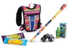 """American Girl Lea's Rainforest Hike Hiking Accessories for 18"""" Doll Backpack NIP"""
