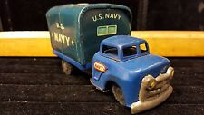 Antique U.S. Navy  Tin Toy Truck, Made in Japan