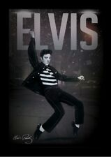 ELVIS PRESLEY LET'S ROCK 13x19 FRAMED GELCOAT POSTER MUSIC LEGEND ICON DANCING!!