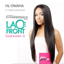 HL OMAHA by 21TRESS R&B COLLECTION MALAYSIAN HUMAN HAIR BLENDED LACE WIG