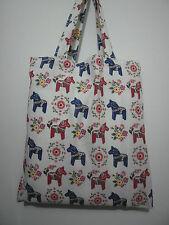 Cotton Linen Tote Shopping Handbag Shoulder Bag Women Girls Purse-Horse2