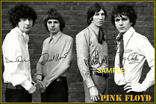 4x6 SIGNED AUTOGRAPH PHOTO REPRINT OF PINK FLOYD