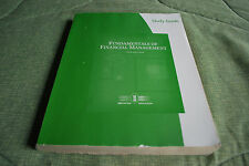 Study Guide for Brigham/Houston's Fundamentals of Financial Management, 12th...