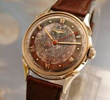 TROPICAL DIAL LONGINES automatic circa 1951 with box ..... STUNNING 1 of a kind!