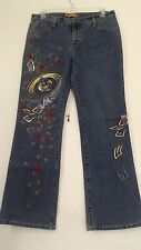 NWT AN FOR ME SIZE 33 WOMEN'S SEQUIN JEANS LAS VEGAS GAMBLING STYLE  $575 QTQTQT