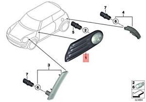 Genuine MINI Cooper One R55 Addit. Turn Indicator Lamp Right White 63137260204