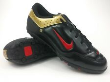 Nike Mens Rare First Touch ll Turf 314657 067 Gold Black Shoes Cleats Size 8