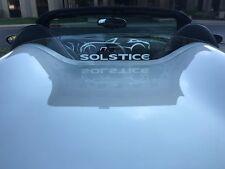 Pontiac Solstice Saturn Sky Opel GT WindRestrictor® brand Wind Deflector