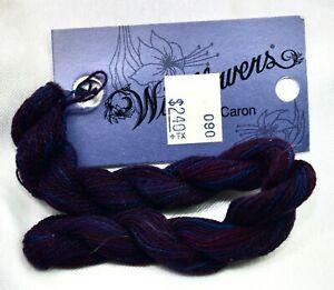 Caron Wildflowers pima cotton 36 yds handpainted #Ruby purple