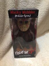 Brand NEW Funko Wacky Wobbler Friday The 13th Jason Voorhees Bobble-head Retired