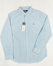 Ralph Lauren Single Cuff Check Regular Formal Shirts for Men
