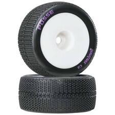 NEW Duratrax 1/8 Posse Truggy Tire Mntd 1/2 Offset White(2) DTXC3667