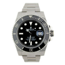 ROLEX Submariner Stainless Steel Ceramic Bezel 116610LN Watch