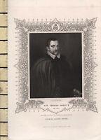 C1830 Georgiano Stampa ~ Sir Thomas