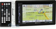 "Soundstream VRN-65HB AptiX Double-DIN GPS DVD Bluetooth Car Stereo w/6.2"" Screen"