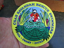 CGAS Savannah Rescue Swimmers Large Pocket Patch