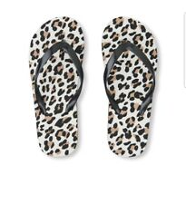 774bc743cf1c Children s Place Girls Leopard Print Flip Flop Youth 12 13