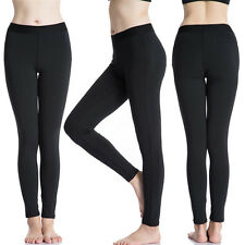 Black Leggings Stretchable for all Women and Girls 12+ Winter Warm Thick Leggins