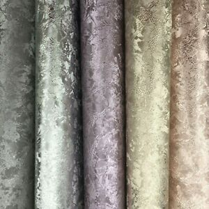 Dolls House Vinyl Wallpaper 1:12 Velvet Crushed Ice Elegant Paste on Wallpaper