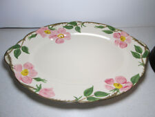 "Franciscan Desert Rose Oval Serving Platter 14"" USA"