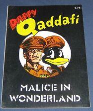 "Daffy Qaddafi ""Malice In Wonderland"" Underground Comix 1986"