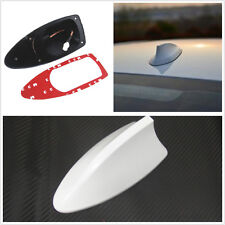 CAR white SHARK FIN ANTENNA ROOF AERIAL DECORATION STYLING