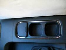 D Nissan Navara D40 Pathfinder Chrom Rahmen für Mittelkonsole - Edelstahl pol