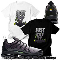 NEW CUSTOM T SHIRT matching Nike Vapormax Plus Borrows The Neon 95 AVP 1-51-14