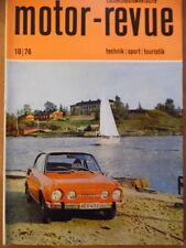 Tschechoslowakische MOTOR REVUE  10 - 1976 * Skoda Geländesport-EM Jawa 350