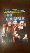 Barron's: Literature Made Easy - Arthur Miller The Crucible Study Guide - Great