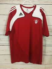 Adidas Indiana University Soccer Jersey ~ ClimaCool ~ Red/White ~ Men's XL