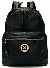 Mimco Splendiosa Black Rose Gold Backpack Rucksack Bag Authentic