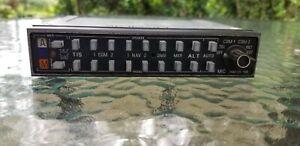Bendix/King KMA24 Aviation Audio Panel Used
