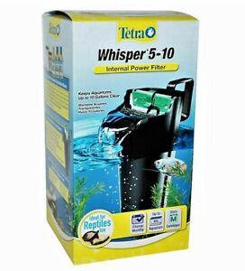 Tetra Whisper 5-10 Gal Internal Power Filter for Aquariums