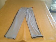 NWT Nike Training Mens Gray Warm Heavy Pants Draw String Waist & Legs Small NEW