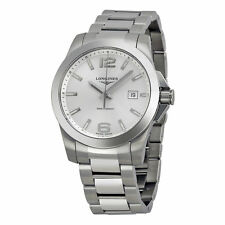 Longines Stainless Steel Case Men's Adult Wristwatches