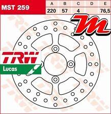 Disque de frein Arrière TRW Lucas MST 259 pour Yamaha XQ 150 Maxster SG06 01-03