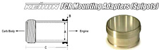 Intake spigots 21E / Keihin FCR 39mm Carburetors HONDA CBR900RR CBR900 CBR 900RR