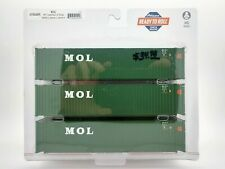 MOL 45' Container 3-Pack HO - Athearn #ATH24555 vmf121