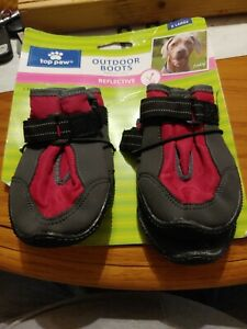 Top Paw Outdoor Pet Dog Boots Reflective X-Large